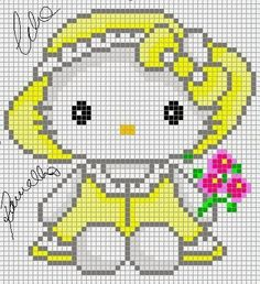 Artes e bordados da Sol: Hello Kitty