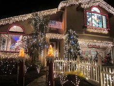 Chestnut Christmas Lit Houses SSF.  An annual visit for Bay Area residents.