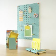 Clever and stylish peg board