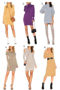 Sweater Dresses - Iris of Style