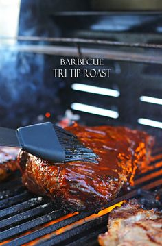 Barbecue Tri Tip Roast on kleinworthco.com  #Evergriller #ad #CleverGirls