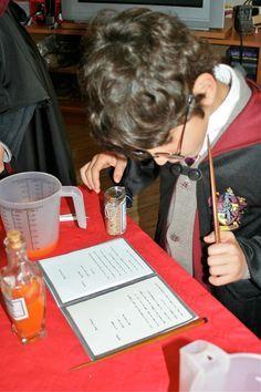 Le jeu des potions pour un anniversaire Harry Potter Super fête Harry Potter