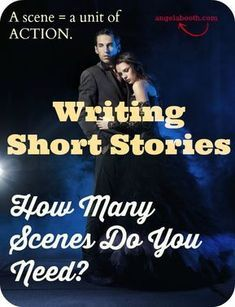 You're writing short stories. How many scenes do you need in a story? Once you know that, plotting and writing your story becomes much easier.