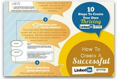 Infographic: Create a successful LinkedIn group in 10 simple steps | Articles | Social Media