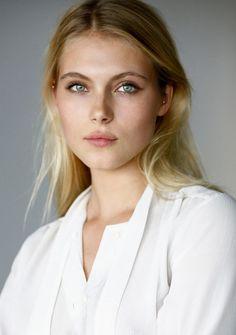 Allegra Carpenter - wow, those eyes!  Such a pretty, feminine face