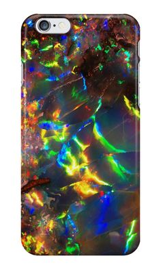 Fire Opal iPhone / Samsung Galaxy Case by Tucoshoppe