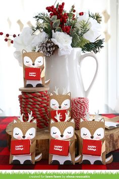"Elena , our party decor queen, is switching it up a bit this month by sharing an awesome idea for teacher gifts!  Elena created a ""herd..."