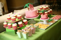 Lilly Pulitzer Inspired Party via Lovelylittlepartiesky.com