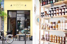 3 Epicerie Myrthe Cantine Hotspot Paris Hipster Guide Bio food Delikatessenladen Deli