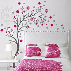 Vinyl Tree Wall Decal Wall Sticker Art  Curvy by WallDecalDepot, $85.00