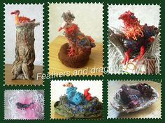 Birds and nests made for art project Feathers and dragons Dragon Bird, Nests, Feathers, Dragons, Art Projects, Birds, Bird, Feather, Kites