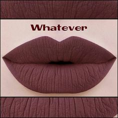 """Whatever"" matte liquid lipstick by colouredraine"