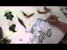 Совместная онлайн зарисовка #46: Листья