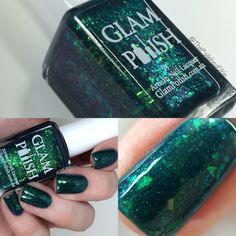 Alien - Halloween Horror Shop Limited Edition swatched by @thepolishedokie