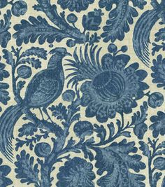 Waverly Sun N Shade Tucker Resist / Chambray: home decor fabric: fabric: Shop | Joann.com
