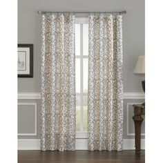 FREE SHIPPING! Shop Wayfair for CHF Damask Stripe Single Curtain Panel - Great Deals on all Decor products with the best selection to choose from!