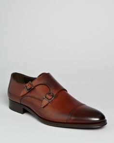 To Boot New York Medford Leather Double Monkstrap Oxfords | Bloomingdale's