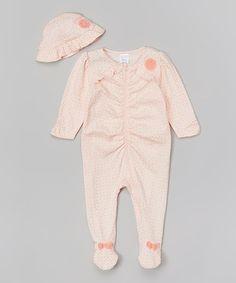 Another great find on #zulily! Pink Mystical Fairies Footie & Hat by Anne Geddes #zulilyfinds