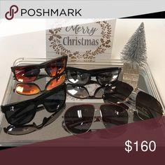 70c402ffaa18 Sunglasses 100% Original Men Prada-Oakley-Dior Accessories Sunglasses  Sunglasses Accessories
