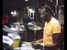 Watch Jazz Legend Elvin Jones Build a Drum Beat   Boing Boing