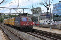 Swiss Railways, Trains, Europe, Levitate, Train