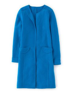 Curzon Coatigan - Gemstone Blue - Bodew AW14 £129