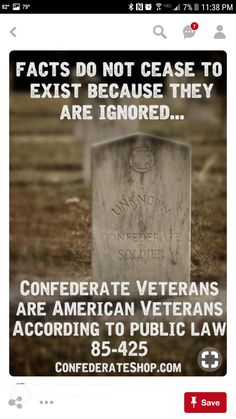 American is American. American Veterans, American Soldiers, American Civil War, American History, Confederate Monuments, Confederate States Of America, Confederate Flag, Southern Heritage, Southern Pride