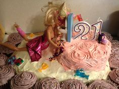 21 Barbie Birthday Cake Its My Sisters Birthday And All She Wants Is A Barbie Cake. 21 Barbie Birthday Cake Birthday Cakes For Girls Drunk Barbie Birthday Cake. 21 Barbie Birthday Cake Kylie Jenner Birthday Cake Had 5 Tiers Of Drunk Barbies. 21st Birthday Cake For Girls, Barbie Birthday Cake, 25th Birthday Cakes, 21st Bday Ideas, Birthday Cheers, Wild One Birthday Party, Birthday Gifts For Teens, Happy Birthday Balloons, Best Birthday Gifts