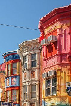 Philadelphia Color #travel #houses #architecture