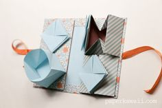 Learn how to make a Chinese Thread Book using 3 origami models, this is such a cute paper project, you can use it to organise sewing threads or as a gift.