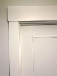 28 trendy Ideas for door frame ideas moldings craftsman trim Baseboard Trim, Baseboards, The Doors, Panel Doors, Entry Doors, Door Frame Molding, Door Frames, Moulding, Window Molding Trim