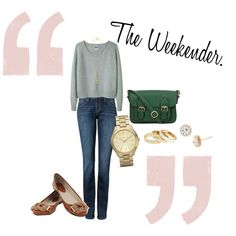 The Weekender., created by violetsforlou on Polyvore