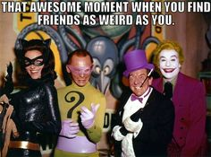 Share this with YOUR weirdest friend. #batman #BFFs