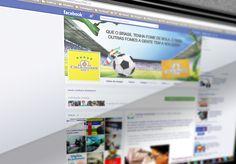 Capa e Avatar rede social Facebook - Casa di Salgados - COPA do Mundo