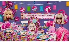 Image Detail for - Barbie Birthday Party Ideas - Party City