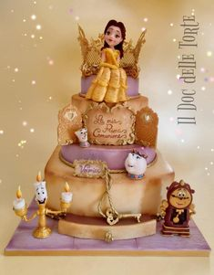 Beauty and the Beast cake by Davide Minetti
