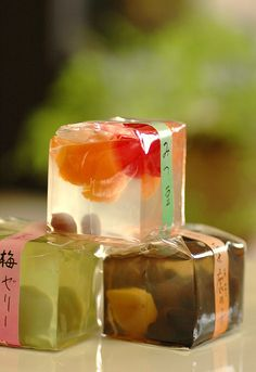 Japanese Jellies simple and sweet #packaging PD