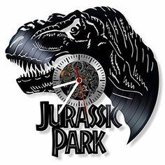 Jurassic Park vinyl Wall Clock- Modern room decor-Unique ... https://www.amazon.com/dp/B06X8ZMK1J/ref=cm_sw_r_pi_dp_x_OSXOybA1WY5DN