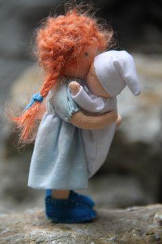 "waldorf dollhouse doll 5"" by Eline's poppenwereld"