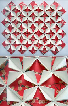 Read information on Origami Paper Craft Origami Art Mural, Origami Quilt, Origami Paper Art, Paper Crafts, Origami Star Box, Origami Fish, Origami Stars, Origami Butterfly, Origami Design