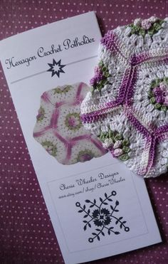 Pretty pattern - I love the color combo too!  My grandmother used to make these!!:)