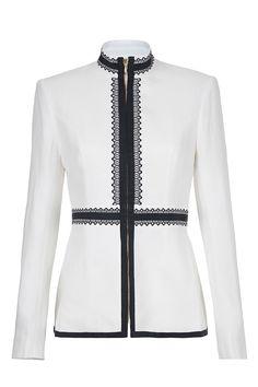 #sassandbide   CHANGE THE RULES jacket   #traditional #cultural #blueandwhite #jacket