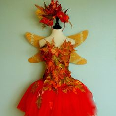 Hey, I found this really awesome Etsy listing at https://www.etsy.com/listing/186985155/fairy-costume-woodland-fairy-autumn