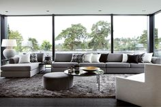How To Quickly And Easily Create A Living Room Furniture Layout? Corner Sofa Living Room, Living Room Plan, Living Room Furniture Layout, Interior Design Living Room, Living Room Designs, Living Room Decor, Modul Sofa, Sala Grande, Sofa Inspiration