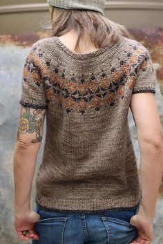 Ravelry: Yanis pattern by Isabell Kraemer Fair Isle Knitting Patterns, Sweater Knitting Patterns, Loom Knitting, Knit Patterns, Free Knitting, Knitting Machine, Stitch Patterns, Crochet Woman, Knit Crochet