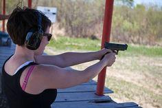 How to Teach a Woman to Shoot - Home Defense Gun