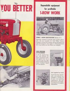 FORD 541 WORKMASTER OFFSET AD