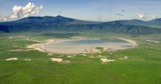 ngorongoro crater aerial - Google Search