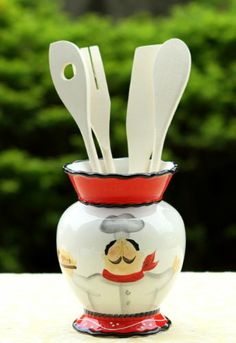 Tuscany Colorful Plump Bistro Chef Hand Painted Kitchen Tool Set, 89138 by ACK ACK http://www.amazon.com/dp/B00FROW1GA/ref=cm_sw_r_pi_dp_2.ENtb1S1DQSXRC5