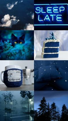 scorpio aesthetic - blue: caring, loving, sensitive
